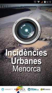Incidencias urbanas Menorca poster