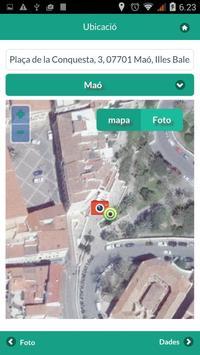 Incidencias urbanas Menorca apk screenshot