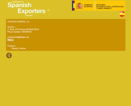 Exporters cheeses apk screenshot