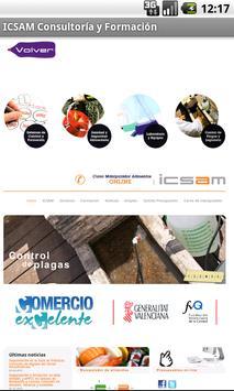 ICSAM Consultoría y Formación apk screenshot