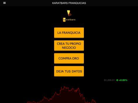 Karatbars Franquicias apk screenshot
