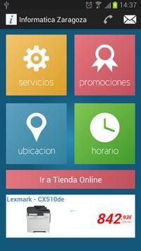 Informatica Zaragoza APP apk screenshot