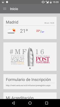 asisa madrid fusión apk screenshot