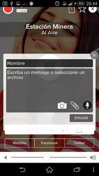 Radio Estación Minera apk screenshot