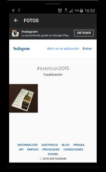 Estelcon 2015 apk screenshot