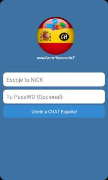 Chat España GenteHispana poster