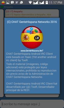 Chat España GenteHispana apk screenshot