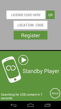 DSA Standby Player poster