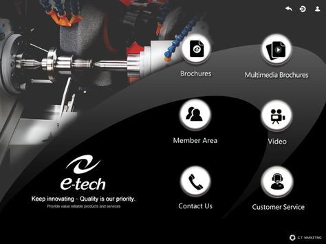 E-TECH apk screenshot