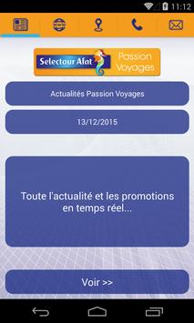 Selectour Afat Passion Voyages poster