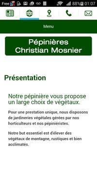 Pépinières Christian Mosnier apk screenshot