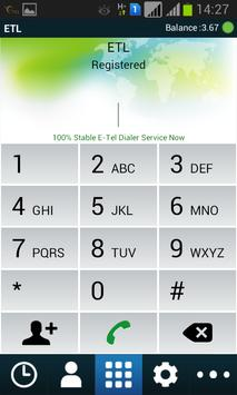 ETL Dialer (UAE-DU) apk screenshot