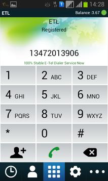 ETL Dialer (UAE-Etisalat) apk screenshot