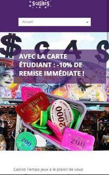 Casino Tempo Jeux poster
