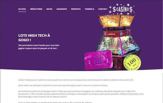 Casino Tempo Jeux apk screenshot