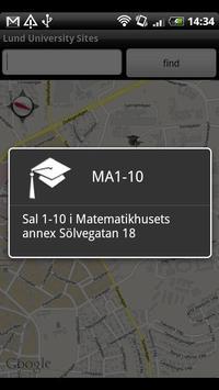 Lund University Sites apk screenshot