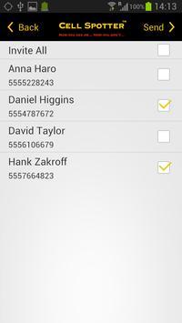 CellSpotter GPS Location Share apk screenshot
