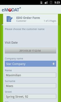 eMODAT Healthcare apk screenshot