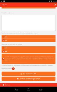 Constat permis de construire apk screenshot