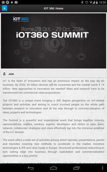 IOT360 Summit 2014 apk screenshot