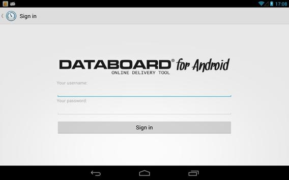 DATABOARD for Android poster