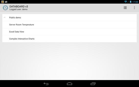 DATABOARD for Android apk screenshot
