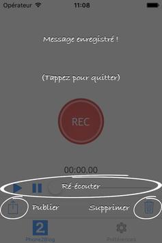Phone2Blog apk screenshot