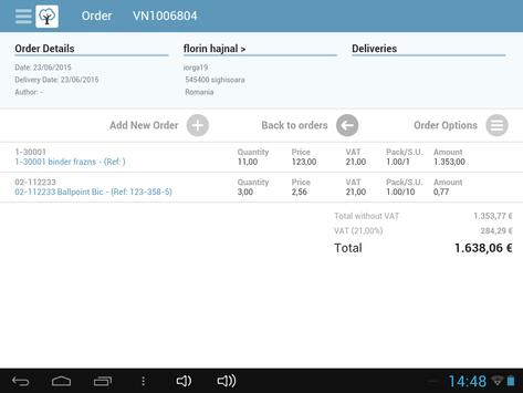 SalesAssist ERP apk screenshot