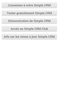 Simple CRM poster