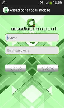 ASSADIOCHEAPCALL MOBILE poster