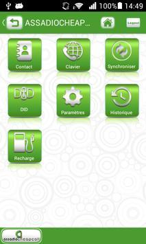 ASSADIOCHEAPCALL MOBILE 1.0 apk screenshot