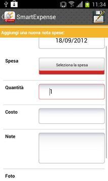Expense apk screenshot