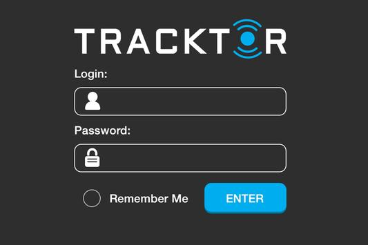 Tracktor - GPS Tracking System poster