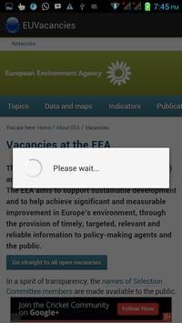 Epso Vacancies apk screenshot
