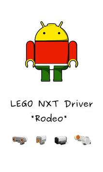 """Lego NXT Driver """"Rodeo"""" poster"""