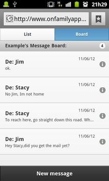On Family Beta - Shopping List apk screenshot
