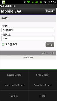 SAA Mobile ++ apk screenshot