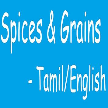 Spices And Grains in Tamil poster