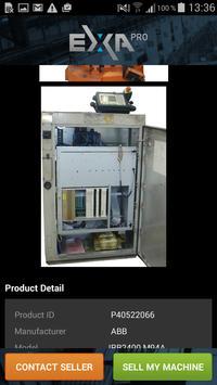 Exapro: used machinery apk screenshot