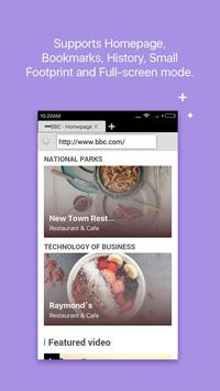 Web Browser for Android apk screenshot