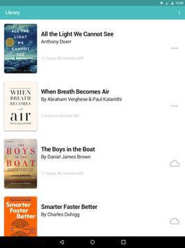 Audiobooks from Libro.fm apk screenshot