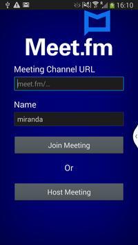 Meet.fm poster
