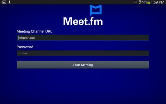 Meet.fm apk screenshot