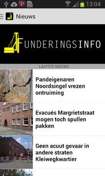 Funderings-info poster