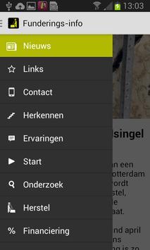 Funderings-info apk screenshot