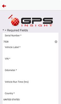 GPS Insight Unit Verification apk screenshot