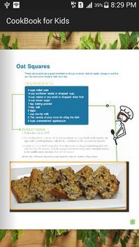 CookBook for Children apk screenshot
