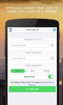 Fake Caller ID apk screenshot