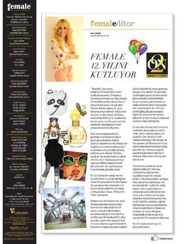 Female Kadın Dergisi apk screenshot