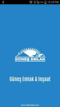 Guneş emlak poster